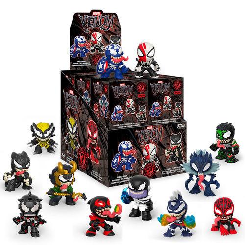 Фигурка Funko Mystery Minis: Marvel Venom: 12PC PDQ 46474