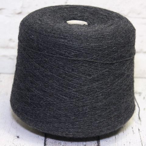 Смесовка с альпакой и мериносом LINEAPIU / PARSIVAL 2/15 серый меланж