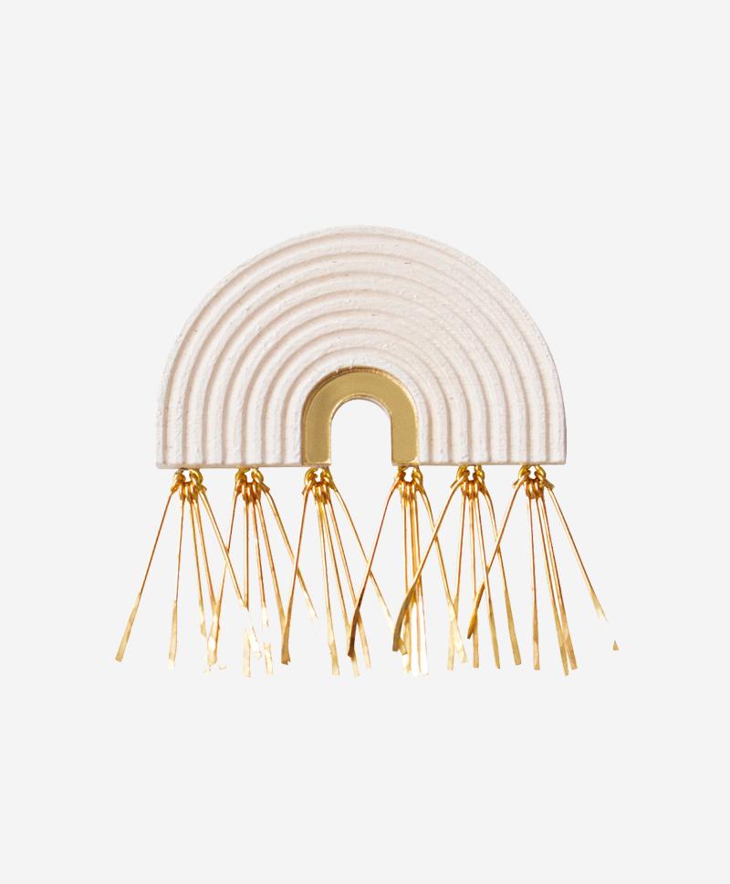 800-969--брошьTassel-Arch-White