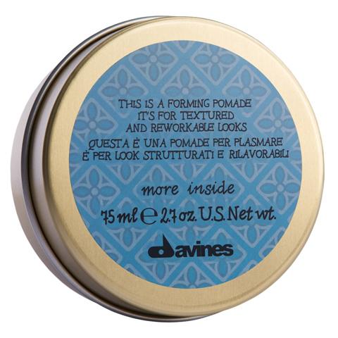 Davines More Inside: Моделирующая помада для текстурных и пластичных образов (Forming pomade it's for textured and rew orkable looks)