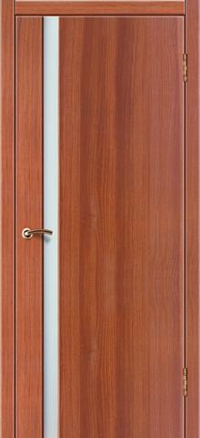 Дверь Стиль 5 (дуб золотистый, остекленная ПВХ), фабрика Зодчий