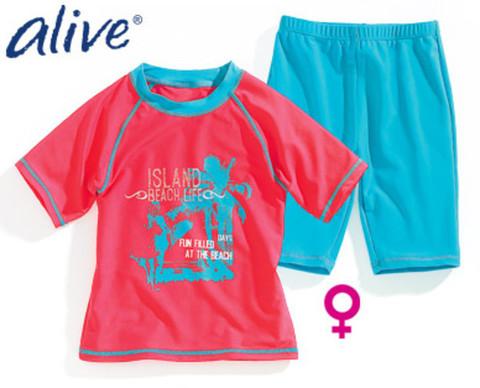 Комплект для девочки футболка + шорты Alive
