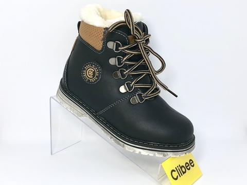 Clibee (зима) H154 Blue/Brown 27-32