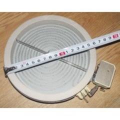 Конфорка стеклокерамическая 1200W, D165/d145mm, (hi-light) Indesit  и др. 260941 358684, 327340 , 481231018887