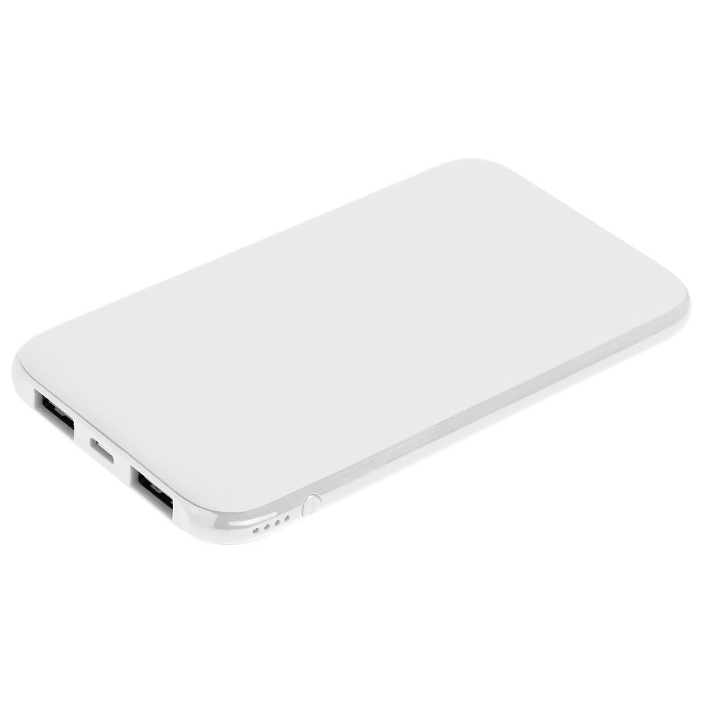 Uniscend Half Day Compact Power Bank 5000 mAh, white
