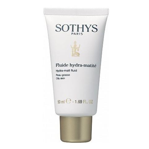 Sothys Oily Skin Line: Флюид увлажняющий матирующий для жирной кожи лица (Hydra-Matt Fluid), 50мл