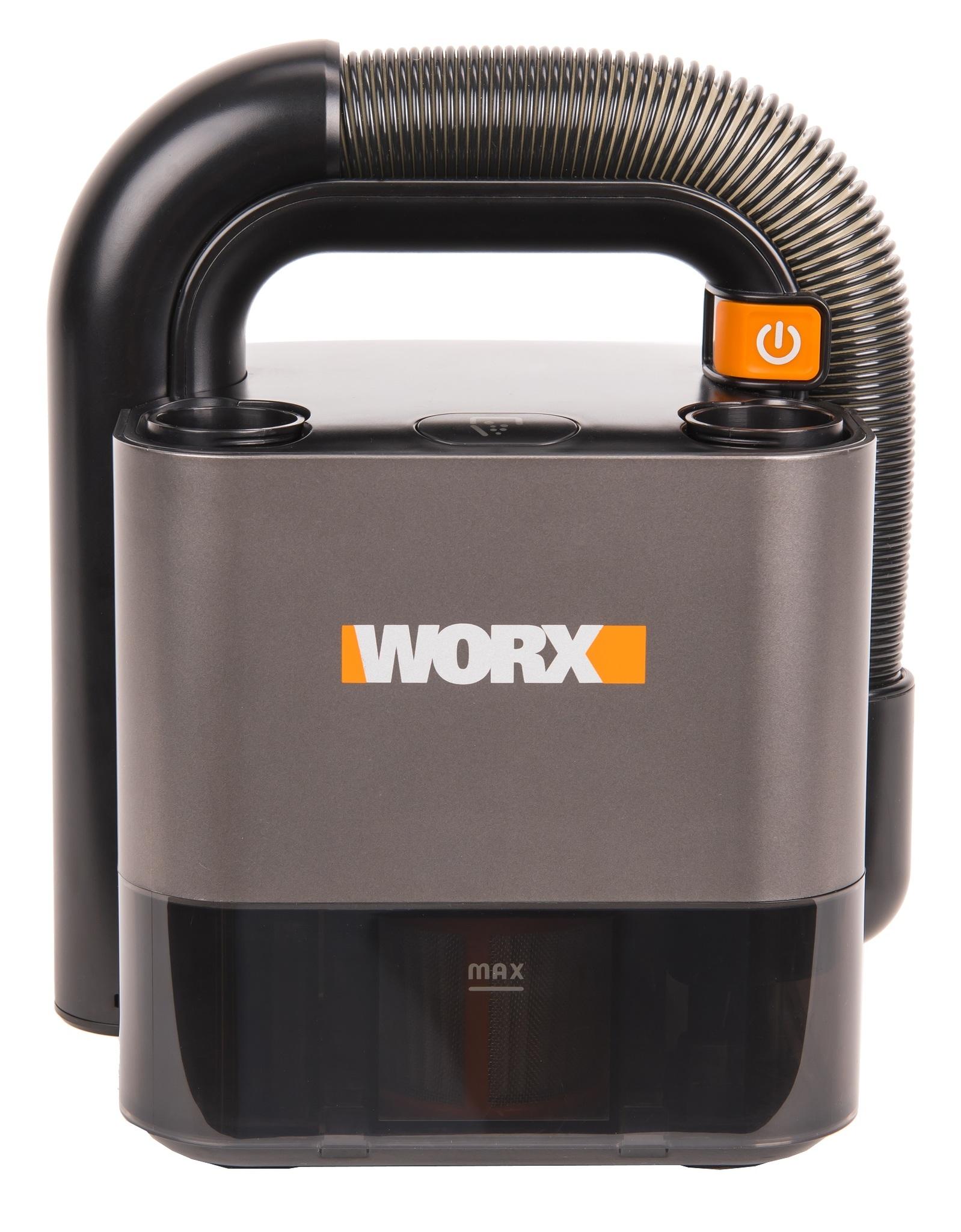 Аккумуляторный пылесос WORX WX030.9 20В, без АКБ и ЗУ