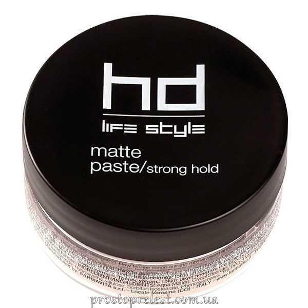 Farmavita HD Matte Paste Strong Hold - Матова паста сильної фіксації