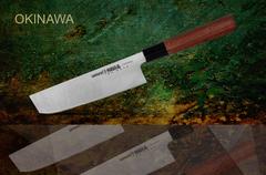 SO-0174 Топорик кухонный стальной Накири Samura Okinawa