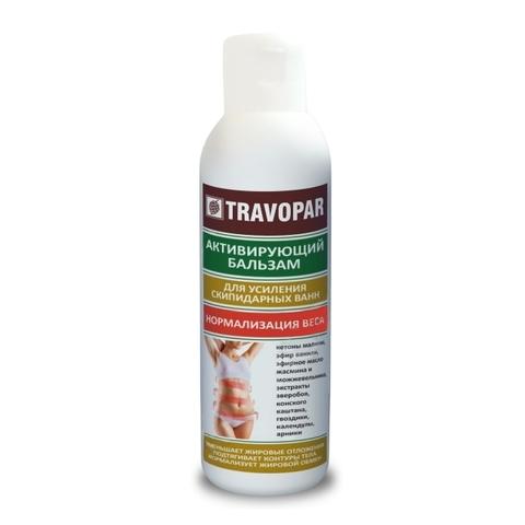 Активирующий бальзам Для нормализации веса Travopar 150 мл НИИ Натуротерапии