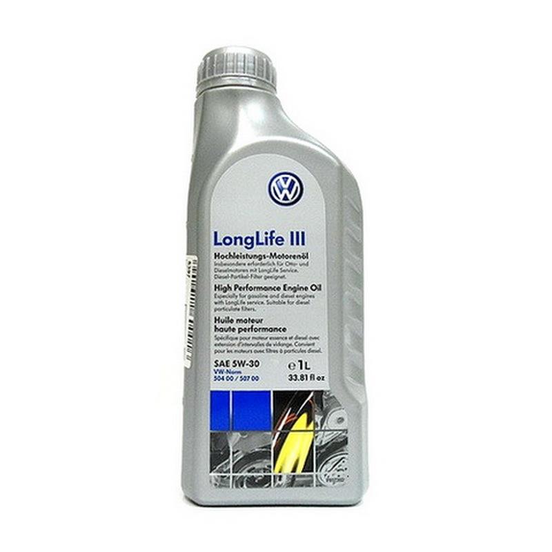 VAG Longlife III 5W30 (1л) - Синтетическое моторное масло
