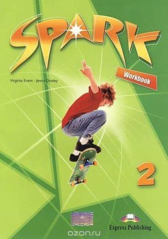 Spark 2. Workbook (monstertrackers) (with digibook app) (international). Рабочая тетрадь (с ссылкой на электронное приложение)
