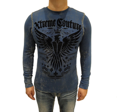Пуловер Xtreme Couture INTENSITY BLUE