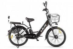 Электровелосипед Green City E-Alfa Fat (2020) Чёрный