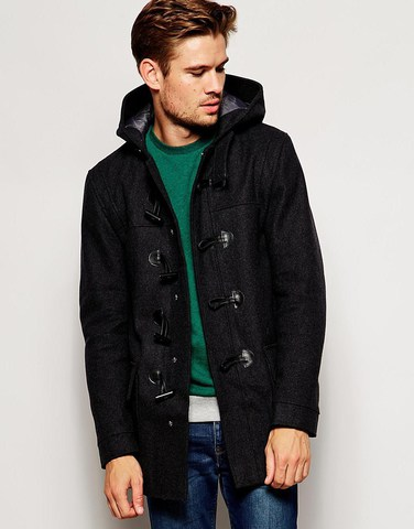 River Island Wool Duffle Jacket