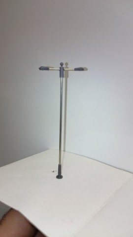 Фонарь городской двойной 8,5 см, 3 V (TT), 87105