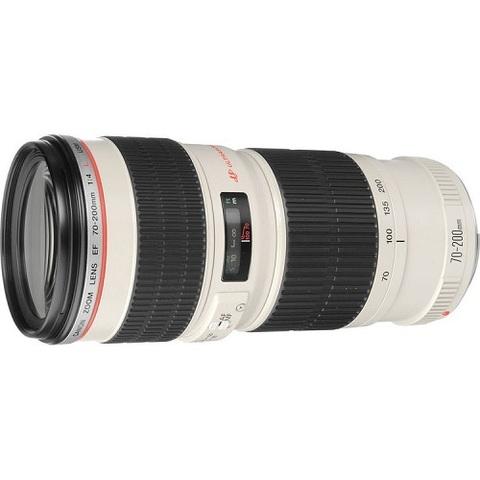 Объектив Canon EF 70-200mm f/4L USM White для Canon