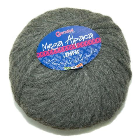 Купить Пряжа BBB Mega Alpaca Код цвета 090 | Интернет-магазин пряжи «Пряха»