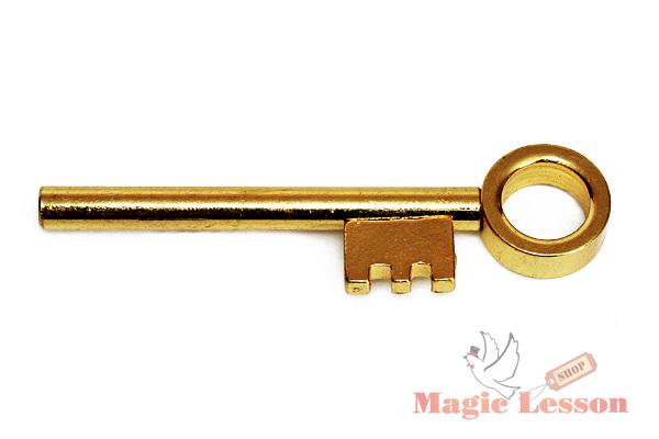 Фокус  движущийся ключ