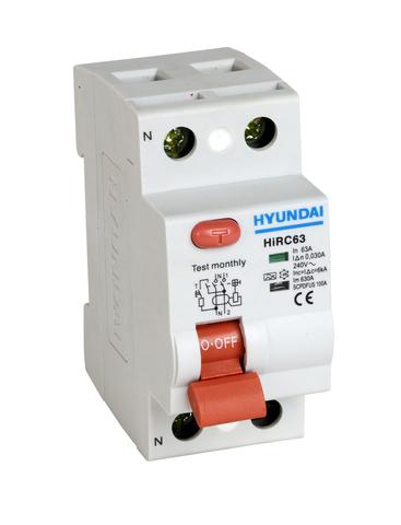 Устройство защитного отключения HIRC63 2PG7S0000C 2 полюса, от 16 до 63 A, 300mA