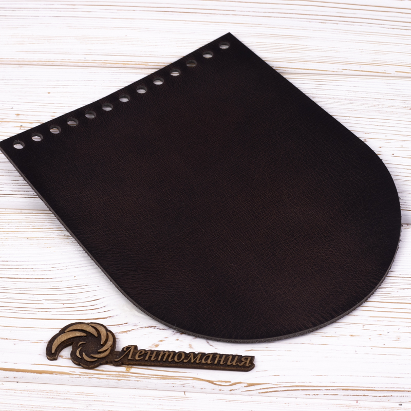 """Вся фурнитура Клапан для сумочки кожаный """"Черное дерево"""" 19,5 см на 15,5 см IMG_7344.jpg"""