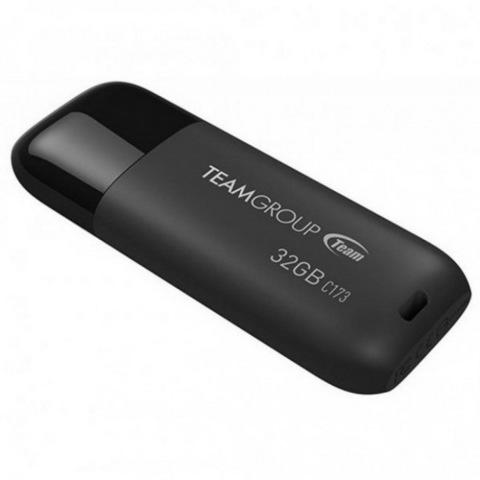 Накопитель Team C173 32GB USB 2.0 Pearl Black (TC17332GB01)