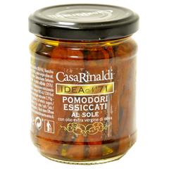 Помидоры Casa Rinaldi сушеные в оливковом масле Extra Virgine 200 г