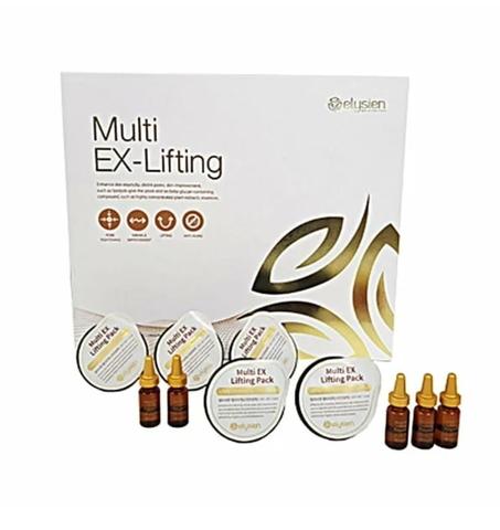 Elysien Multy EX-Lifting Gold - Мышечная маска с эффектом ботокса (набор на 5 процедур)