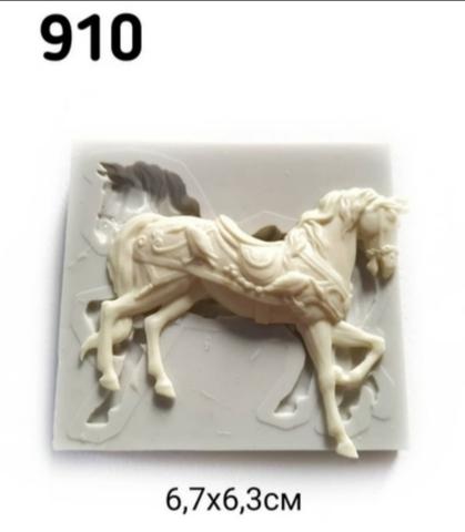 Молд Лошадь 6.5х6,5см, Арт.PO-0910, силикон