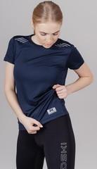 Элитная женская футболка Nordski Run Dress blue W