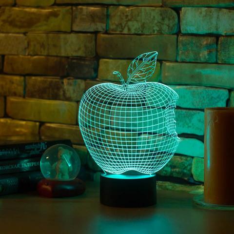 3D светильник Яблоко - Apple