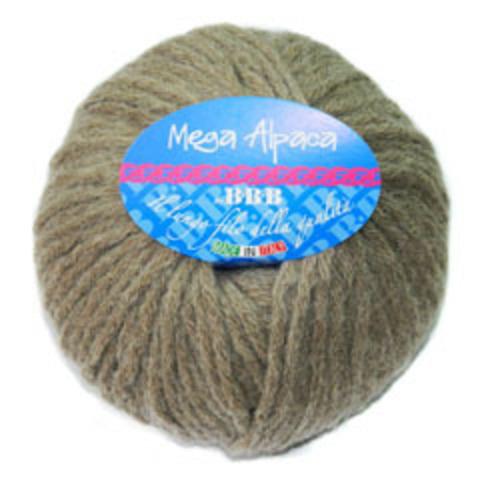 Купить Пряжа BBB Mega Alpaca Код цвета 100 | Интернет-магазин пряжи «Пряха»
