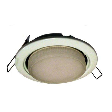Ecola Светильник GX53 H4 белый LED 4,2W 2800K матовая Light