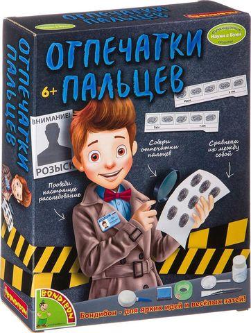 Набор для опытов Bondibon Французские опыты Науки с Буки Отпечатки пальцев