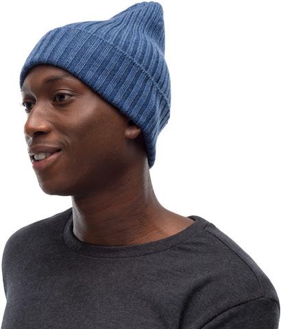Вязаная шерстяная шапка Buff Hat Wool Knitted Norval Denim фото 1