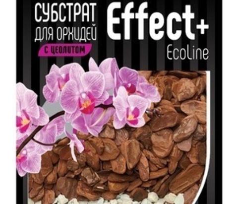 Субстрат для орхидей с цеолитом Effect+ 19-28мм EcoLine 2л