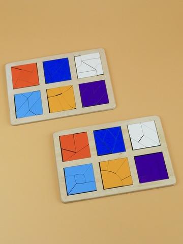 Логическая игра Сложи квадрат Б.П. Никитин 3 уровень RADUGA KIDS, 6+