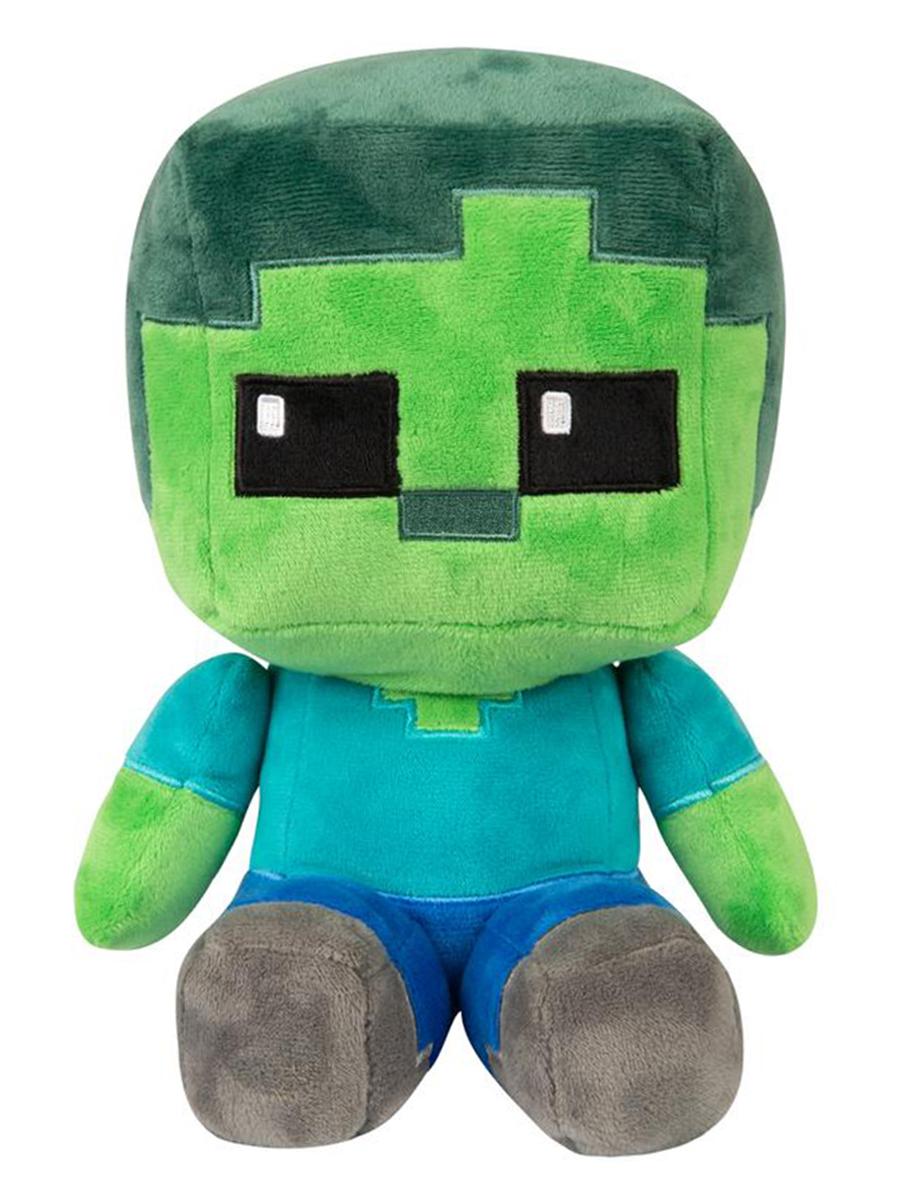 Мягкая игрушка Minecraft Crafter Zombie 22см