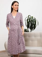 Мамаландия. Комплект для беременных и кормящих, коричневые звезды