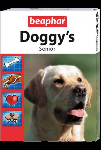 купить бефар Beaphar Senior Doggy's кормовая добавка для собак старше 7 лет