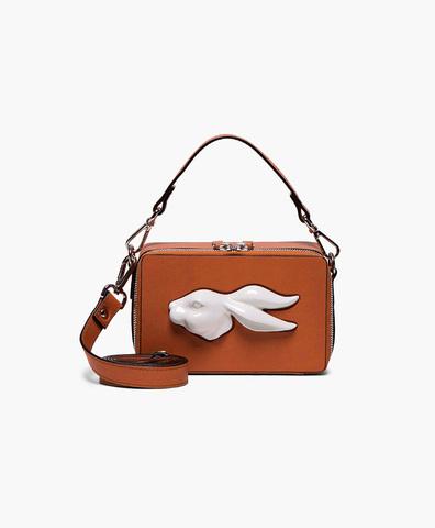 Прямоугольная сумка Rabbit Head Napa Camel