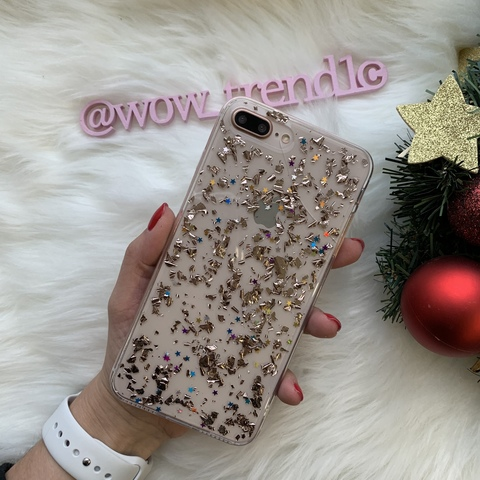 Чехол iPhone 8/7 Plus Magic Brilliance /rose gold/