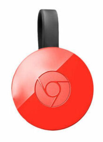 Приставка Google Chromecast 2 2015 Red / Красный
