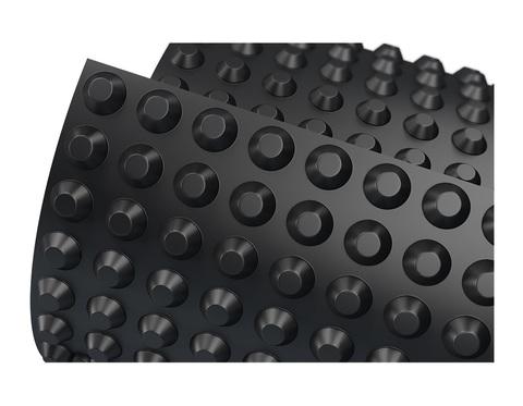 Мембрана профилированная Gruntflex Fundament Base 1х10м (10м2) рул