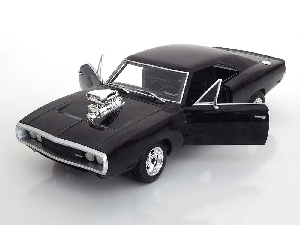 Коллекционная модель Dodge Charger RT Fast & Furious 1970 Black
