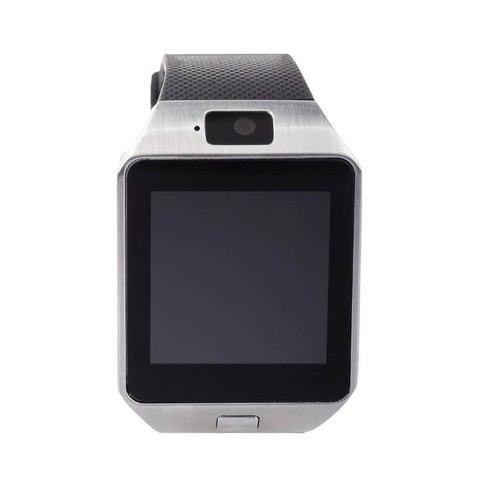 Умные часы телефон KingWear DZ09 в стальном корпусе
