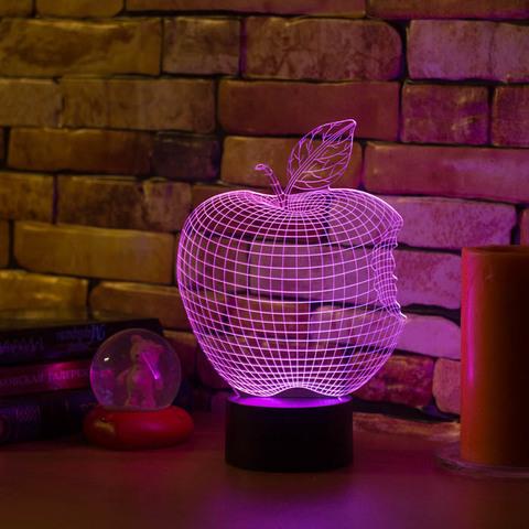 3D лампа Яблоко - Apple