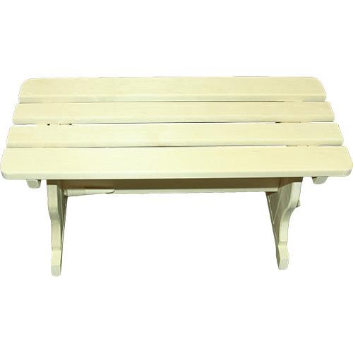 Скамья из осины (широкая), 120*40*44 см