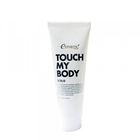Esthetic House Скраб для тела с козьим молоком Touch My Body Goat Milk Body Scrub 250 мл