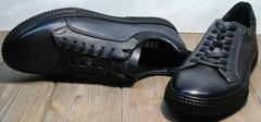 Туфли кеды мужские демисезонные Komcero 9K9154-734 Black-Grey